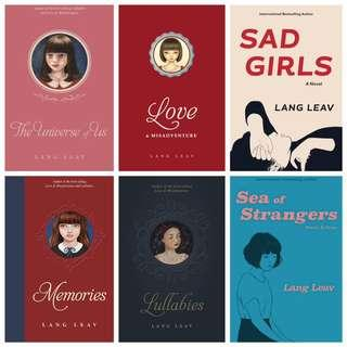 📚LANG LEAV BOOKS (EBOOK/EPUB FILE)