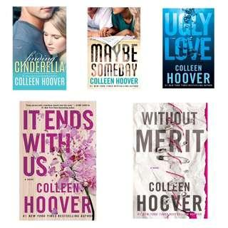 📚COLLEEN HOOVER BOOKS (EBOOK/EPUB FILE)