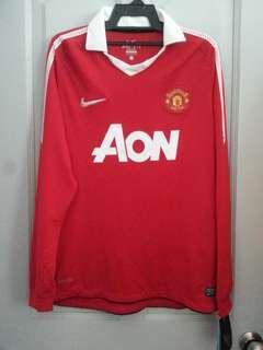 Manchester United 2010/11 home kit
