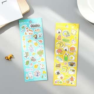 Hoccori Diary Deco Stickers