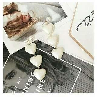 ANTING HEART SHAPED PEARL