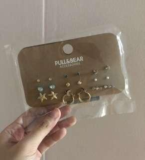 Pull and Bear Earring set