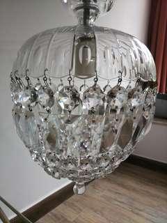 懷舊水晶燈