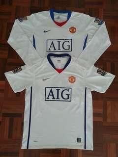 Combo Manchester United 2008/09 away kit