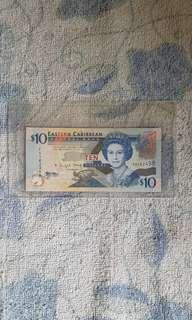 Eastern carribean banknote