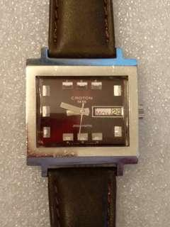 不議價#要修理 Vintage Croton Automatic Watches 古董手錶