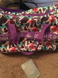 Brand new disney duffel bag