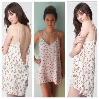 Brandy Melville Floral Lynette Dress