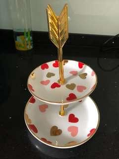 2 Tier Tray/Stand
