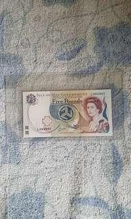 Isle of man banknote