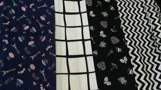 1/2 meter cotton craft fabric