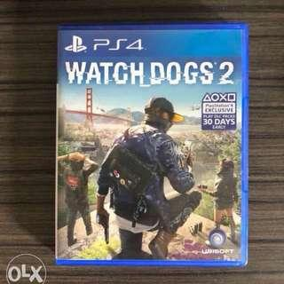 Watchdogs 2 (PS4 Game)