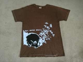 HOT WATER MUSIC band t-shirt