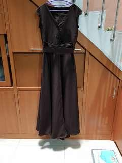 Long Dress Gamis Gown