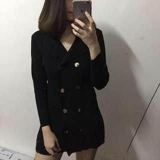 Button Up Knitted dress