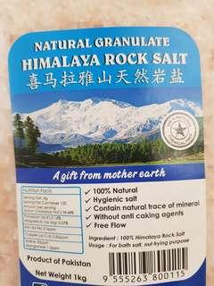 Natural Organically formed Himalayan Salt Crystals $6.90/ pack 1kg