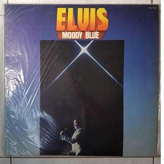 "Elvis - Moody Blue 12"" Vinyl LP album"