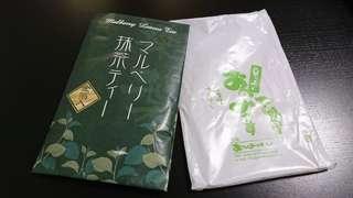京都 金箔桑葉抹茶粉 mulberry leaves matcha tea