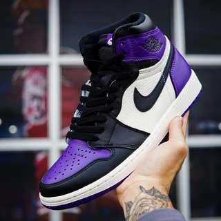"Nike Jordan 1 ""Court Purple"""