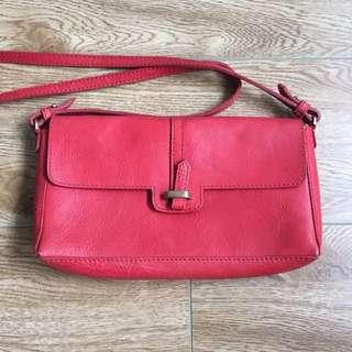 Zara Red Sling Bag