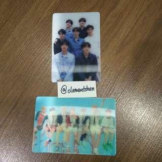 BTS Love Yourself Tear & Answer Lenticular Card