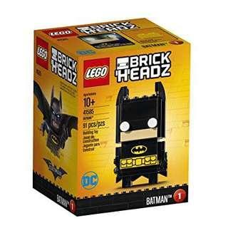 Leeogel Lego Brick Headz 41585 Batman DC - New In Sealed Box