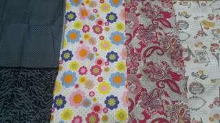 1/2 meter cotton fabric for craft