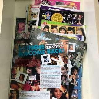 SHINee Chinese Magazine Cut-outs