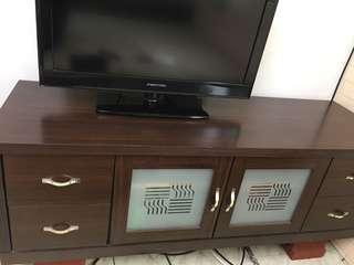 核桃木電視櫃