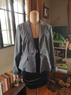 S Gray Tailored Blazer