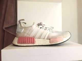 Adidas NMD_R1 Womens White Pink