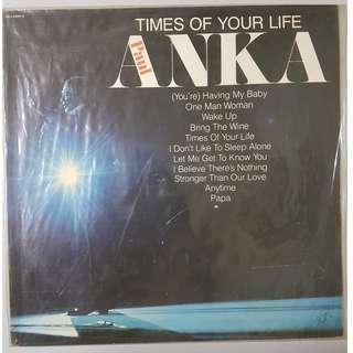 "Paul Anka - Times of your life 12"" Vinyl LP"