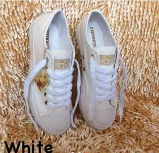 Converse leather Shoes for Women#2332