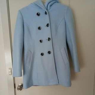 Thick Blue Coat