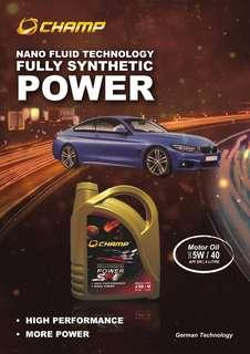 Nano Fluid Technology Fully SYNTHETIC Engine Oil 10k - 4L