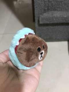 🚚 【全新】熊大吊飾 玩偶