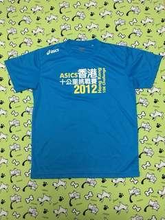 🈹Asics 2012 十公里挑戰賽 t-shirt (Size: L)