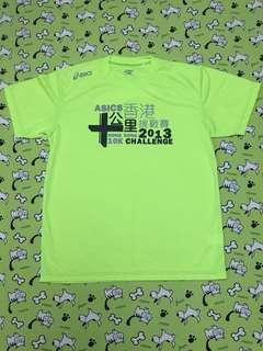 🈹 Asics 2013 十公里挑戰賽 t-shirt (Size: XL)