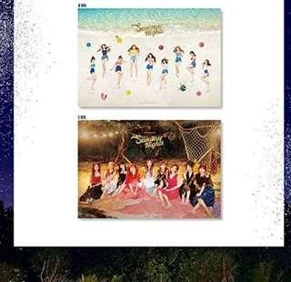 [2 FOR 20] TWICE POSTER SUMMER NIGHT