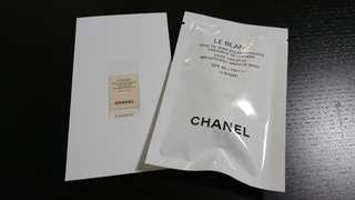 (包郵) Chanel Le Blanc makeup base sample 珍珠光采防曬妝前乳