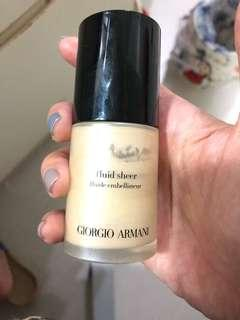 Giorgio Armani Fluid sheer colour 1