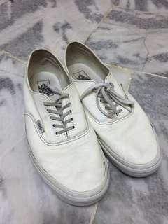Vans Authentic Leather White