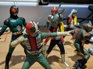 Kamen Rider Figures Set Rx V3 Riderman Amazon Zx