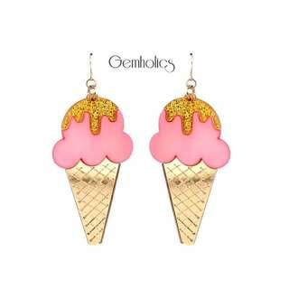 Forever 21 yummy ice cream earring