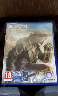 PS4 BD Kaset Assassin Creed Syndicate