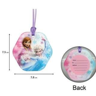 包郵 Disney Frozen 魔雪奇緣 行李牌 名牌