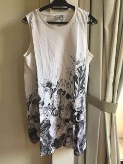 Mod casual dress ASOS murah Ukuran US12