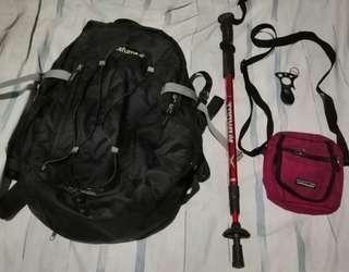 Lafuma hiking bag trekking backpack like sandugo deuter kelty osprey berghaus vaude lagalag salomon sandugo tribu conquer tukad patagonia quechua merrell