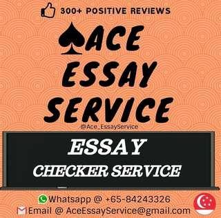 [FREE] Essay Checker 👨🎓👩🎓💯                          Assignment