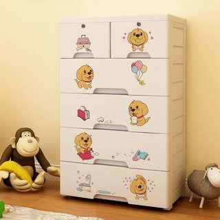Free delivery Kids clothes toys drawers cabinet